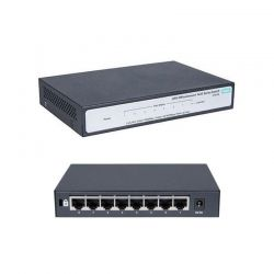 Switch HPE JH330A 8p GigaE Rack plug-and-play