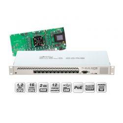 Router Mikrotik CCR1016 12p-GigaE 16-Nuc-1.2GHz L6