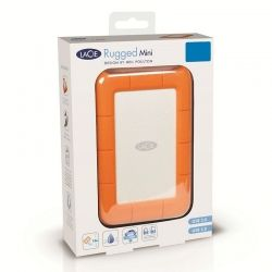Disco Externo LaCie Rugged Mini 1 TB USB 3.0 IP54