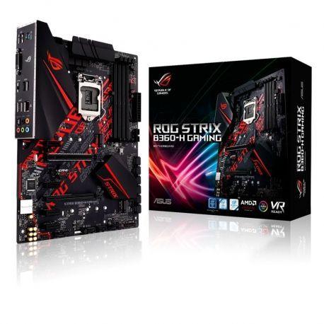 Tarjeta Madre ASUS ROG STRIX B360-H Game LGA1151