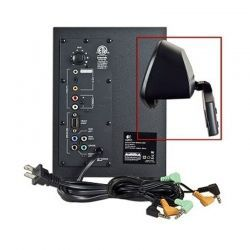 Parlante Logitech Z506 5.1 75 W Negro 3.5 mm 4x8W