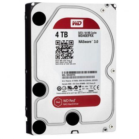 Disco Interno Western Digital Red 4TB 3.5' SATA