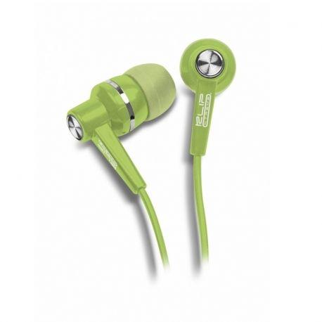 Audífonos Klip Xtreme Alámbrico 3.5 mm Verde