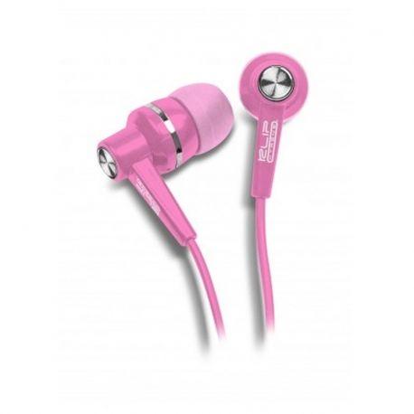 Audífonos Klip Xtreme KSE Alámbricos 3.5 mm Rosa