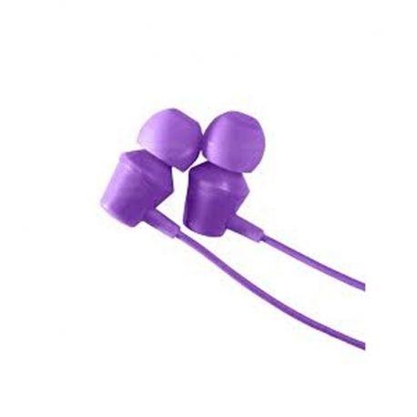 Audífonos My Jam Earbuds Alámbricos 3.5 mm Morado