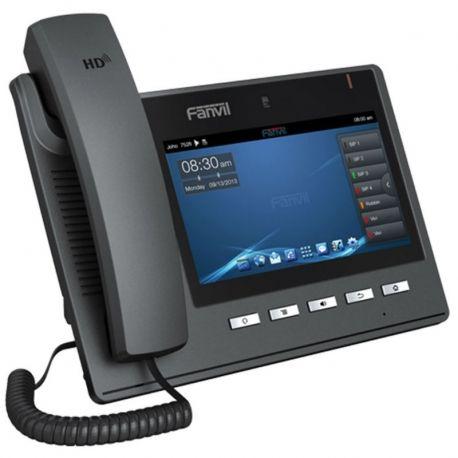 Teléfono IP Fanvil C600 6 Líneas SIP LCD 7' Touch