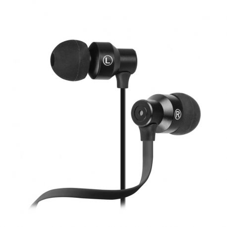 Audífonos NeatBuds Alámbricos 3.5 mm Negros