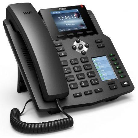 Teléfono IP Fanvil X4G LCD 4 Líneas SIP 2P Gigae