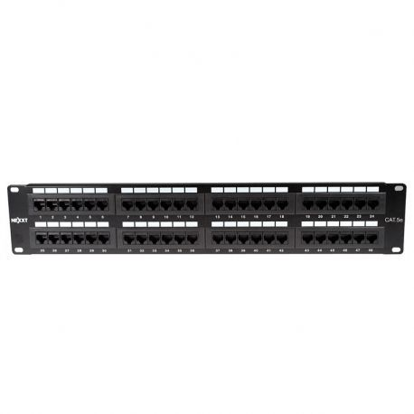 Patch Panel Nexxt AW190NXT11 Cat5E 48p Tipo110 2U