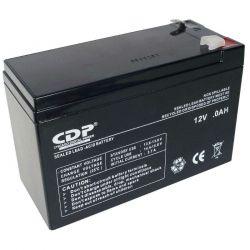 Batería CDP LSB12-7 12 V 7.0 Ah para carga de UPS