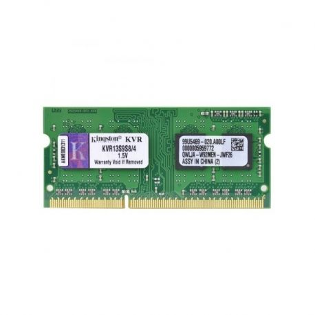 Memoria RAM SO DIMM Kingston DDR3 4GB 1333MHz