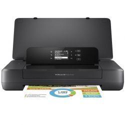 Impresora Móvil HP Officejet 200 USB Wi-Fi Negro