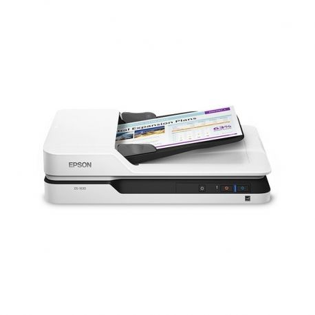 Escáner Epson DS-1630 A4 USB LAN Win / Mac Blanco