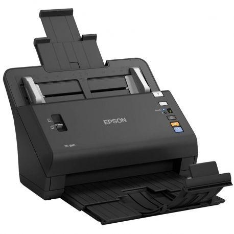 Escáner Epson Workforce DS-860 USB LAN Negro