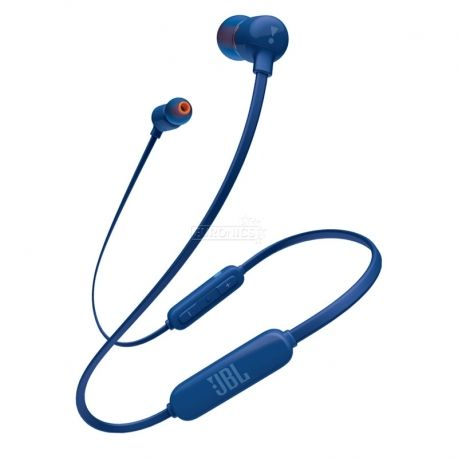 Audífonos JBL T110Bt Cable Plano Bluetooth Azul