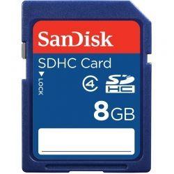 Tarjeta SD SanDisk SDSDB-008G-B35 8GB SDXC 80MB/s