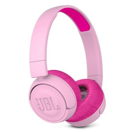 Audífonos Jbl Jr300Bt Legendario Bluetooth Rosa