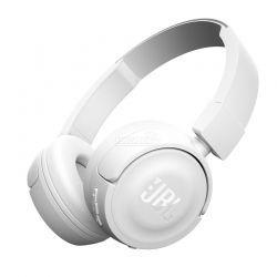 Audífonos JBL T450Bt Bluetooth poderoso Blanco