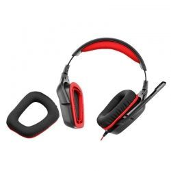 Headsets Logitech G231 Game 3.5 mm Negro Naranja