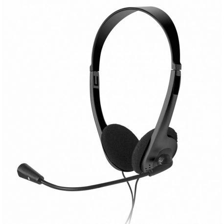 Headsets Xtech 3.5 mm Negro Coble 1.8 de Largo
