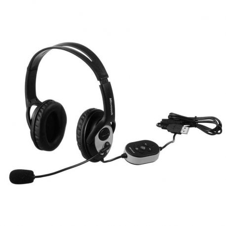 Headsets Microsoft Lifechat Lx3000 USB Negro