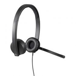 Audífonos Logitech H570e USB Negro