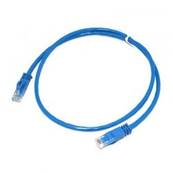 Patch Cord NEWLINK NEW-17703BL Cat6A 3 Ft Azul