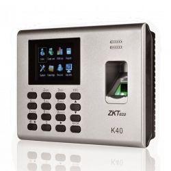 Reloj Biométrico ZKTeco K40 IP 1000 Huellas TFT