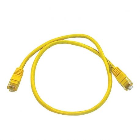Patch Cord NEWLINK NEW-17703YW Cat6A 3Ft Amarillo