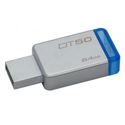 Memoria USB Kingston DT50 64GB USB 3.1 Gris