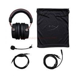 Audífonos HyperX Cloud Alpha Gaming 3.5 mm Negro