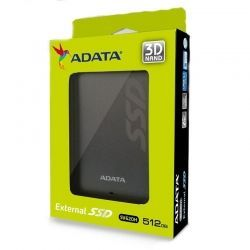 Disco Sólido ADATA ASV620H-512GU3-CT 512GB USB3.0