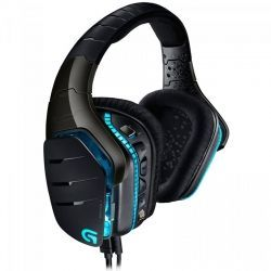 Headsets Logitech G633 3.5 mm / USB Negro