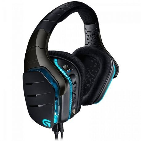 Headsets Logitech G633 3.5 mm / USB Negro
