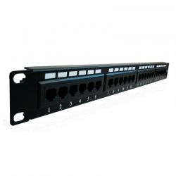 Patch Panel NEWLINK NEW-2777724 Cat6A 24p Rack