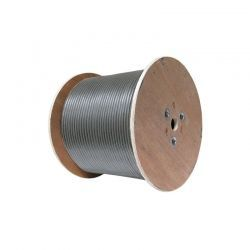 Carrucha de Cable UPT NEWLINK 9807301 Cat6A Gris
