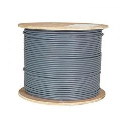 Carrucha de Cable UPT NEWLINK-9806341 Cat6A Gris