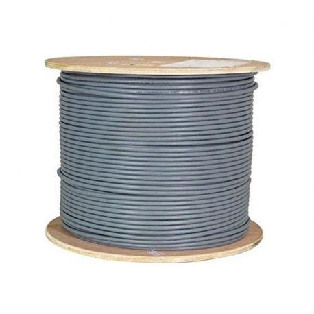 Carrucha de Cable UPT NEWLINK-9806341 Cat6A Gris