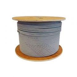 Carrucha de Cable NEWLINK 9807302 Cat6A Gris 305m