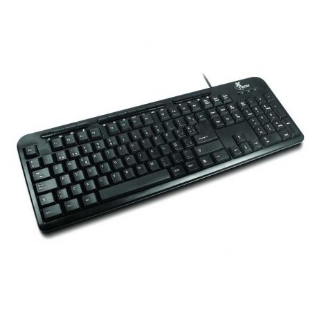 Teclado Xtech XTK-130 USB Multimedia Keyboard ESP