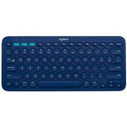 Teclado Logitech K380 Multidevice Bluetooth azul