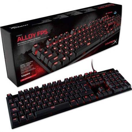 Teclado Mecánico Gaming HyperX Alloy FPS USB ES