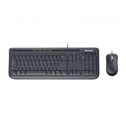 Teclado y Mouse Microsoft Wired 600 USB2.0 Windows