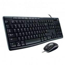 Teclado y Mouse Logitech MK200 USB ESP