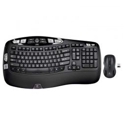 Teclado Logitech MK550 Wave Wireless 2.4 GHz EN