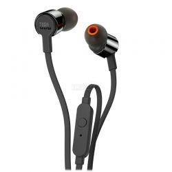 Audífonos JBL T210 poderoso 3.5 mm Negro