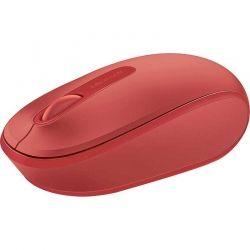 Mouse Microsoft 1850 Diestro y Zurdo 2.4 GHz Rojo