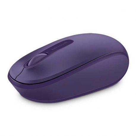Mouse Microsoft 1850 Diestro y Zurdo 2.4GHz Morado