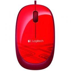 Mouse Logitech M105 Óptico USB Rojo