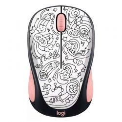 Mouse Logitech Brainstorm Peach 2.4 Ghz